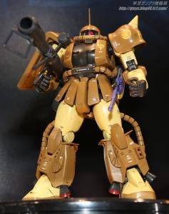 MG MS-06R-1A マサヤ・ナカガワ専用ザクII 静岡ホビーショー20170405