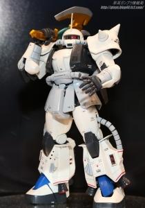 MG MS-06R-1A シン・マツナガ専用ザクII(カスタムタイプ) 静岡ホビーショー20170408