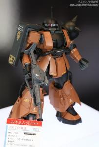 MG MS-06R-2 ギャビー・ハザード専用ザクII 静岡ホビーショー20170416