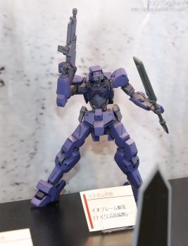 HG イオフレーム獅電(テイワズ所属機) 静岡ホビーショー2017 0608