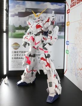 148 メガサイズモデル ユニコーンガンダム(デストロイモード)静岡ホビーショー2017 0707