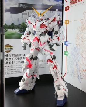 148 メガサイズモデル ユニコーンガンダム(デストロイモード)静岡ホビーショー2017 0706