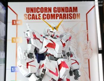 148 メガサイズモデル ユニコーンガンダム(デストロイモード)静岡ホビーショー2017 0704