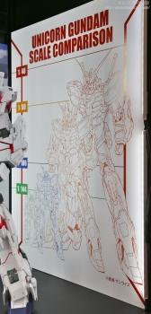 148 メガサイズモデル ユニコーンガンダム(デストロイモード)静岡ホビーショー2017 0712