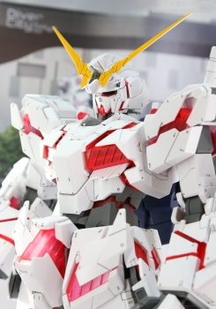 148 メガサイズモデル ユニコーンガンダム(デストロイモード)静岡ホビーショー2017 0710