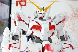148 メガサイズモデル ユニコーンガンダム(デストロイモード)静岡ホビーショー2017 07t