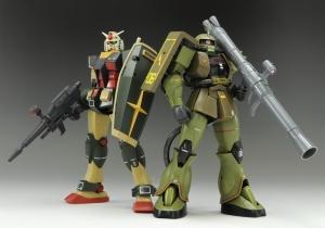 ROBOT魂 MS-06 量産型ザクver. A.N.I.M.E. ~リアルタイプカラー~ (3)