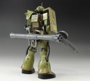 ROBOT魂 MS-06 量産型ザクver. A.N.I.M.E. ~リアルタイプカラー~ (5)