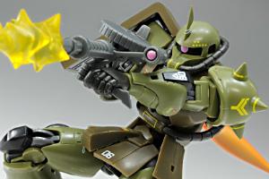 ROBOT魂 MS-06 量産型ザクvert