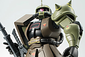 ROBOT魂 MS-06 量産型ザクver. A.N.I.M.E. ~リアルタイプカラー~rt