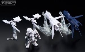 機動戦士ガンダム MOBILE SUIT ENSEMBLE EX03 ヘイズル改(ティターンズカラー)セット テストショット (5)