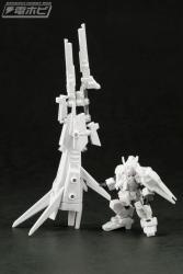 機動戦士ガンダム MOBILE SUIT ENSEMBLE EX03 ヘイズル改(ティターンズカラー)セット テストショット (3)