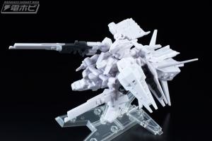 機動戦士ガンダム MOBILE SUIT ENSEMBLE EX03 ヘイズル改(ティターンズカラー)セット テストショット (1)