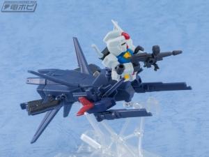 機動戦士ガンダム MOBILE SUIT ENSEMBLE EX03 ヘイズル改(ティターンズカラー)セットの量産品サンプル (5)