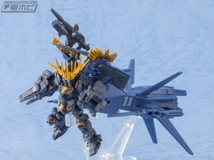 機動戦士ガンダム MOBILE SUIT ENSEMBLE EX03 ヘイズル改(ティターンズカラー)セットの量産品サンプル (4)