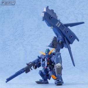 機動戦士ガンダム MOBILE SUIT ENSEMBLE EX03 ヘイズル改(ティターンズカラー)セットの量産品サンプル (2)