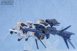 機動戦士ガンダム MOBILE SUIT ENSEMBLE EX03 ヘイズル改(ティターンズカラー)セットの量産品サンプル (1)