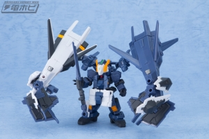 機動戦士ガンダム MOBILE SUIT ENSEMBLE EX03 ヘイズル改(ティターンズカラー)セットの量産品サンプル (6)