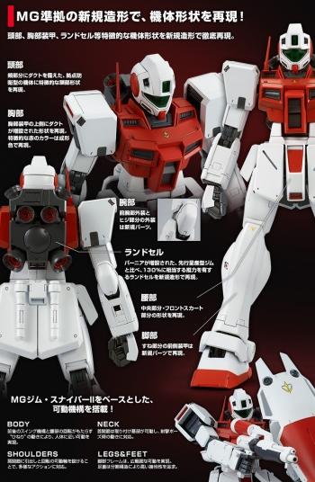 MG ジム・コマンド(宇宙戦仕様)の商品説明画像 (3)
