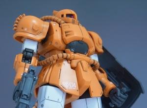 HG MS-04 ブグのレビュー2