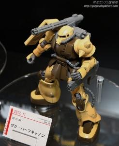 HG ザクハーフキャノン C3AFA TOKYO 2017 0806