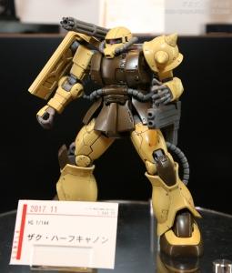 HG ザクハーフキャノン C3AFA TOKYO 2017 0804