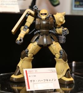 HG ザクハーフキャノン C3AFA TOKYO 2017 0803