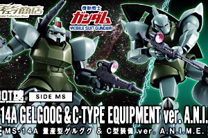 ROBOT魂 MS-14A 量産型ゲルググ&C型装備 ver. A.N.I.M.E.t
