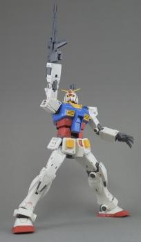 MG RX-78-02 ガンダム (GUNDAM THE ORIGIN版) スペシャルVer.のレビュー3