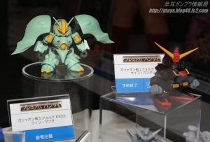 ガシャポン戦士f EX03 クィン・マンサの展示 (1)