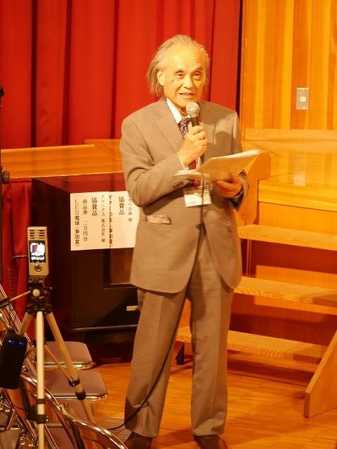 講評の濱田滋郎先生