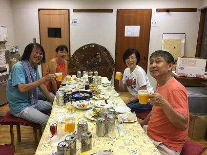 打上げ〜20170715