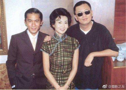 王家衛監督&トニー&マギー・チャン