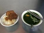 「山河魯肉飯」の三層魯肉飯