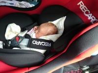沐浴 赤ちゃん レカロ ドライブ