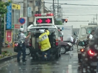 交通事故 朝 通勤