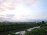 滋賀県 台風 2017年出張