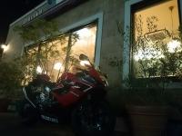 夕餉 イタリアン バイク仲間
