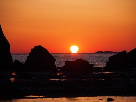 陽が昇る♪