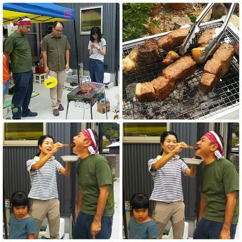 平成29年9月10日新築BBQ祝式