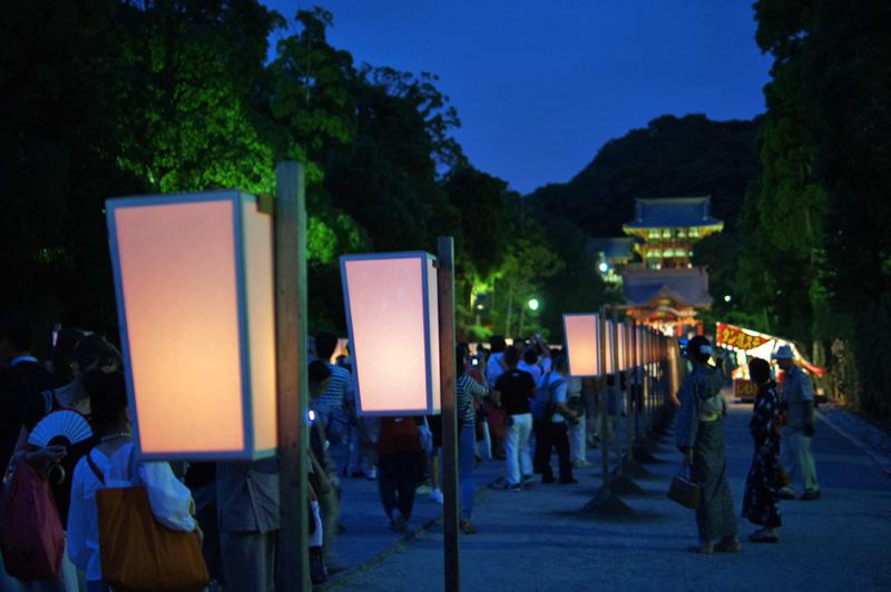 170809鶴岡八幡宮ぼんぼり祭り2