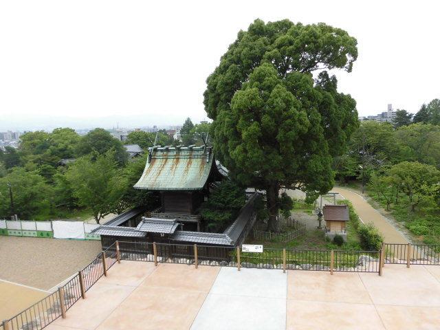 天守台からの眺め 3