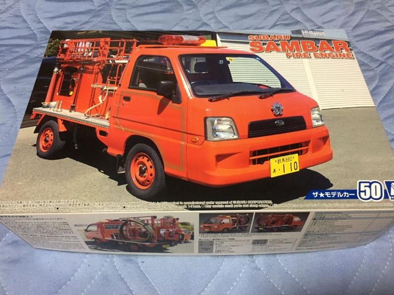 アオシマ TT2 サンバー 消防車