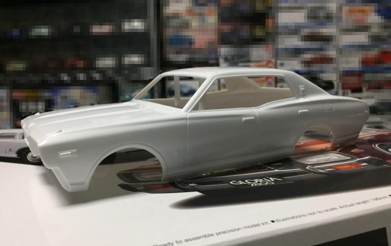 アオシマ モデルカー 330 セドリック グロリア