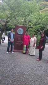 20170618ジャヤワルディネスリランカ前大統領記念碑