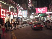 【 道楽のときどき日記 】 ~香港編~-銅鑼湾の街角