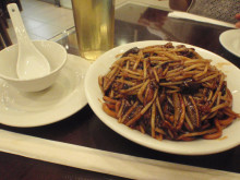 【 道楽のときどき日記 】 ~香港編~-上海鱔炒麺