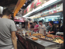 【 道楽のときどき日記 】 ~香港編~-街角の小吃屋