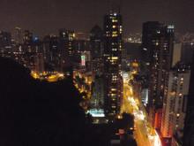 【 道楽のときどき日記 】 ~香港編~-テラスからの夜景