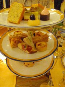 【 道楽のときどき日記 】 ~香港編~-afternoon tea at The Peninsula